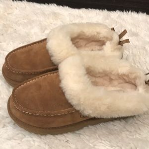 UGG slippers, size 8